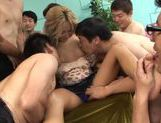 Nasty Julia Tachibana fucked by a few horny dudes  picture 10