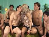 Nasty Julia Tachibana fucked by a few horny dudes