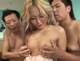 Nasty Julia Tachibana fucked by a few horny dudes  picture 8
