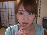 Akiho Yoshizawa gets fucked in the kitchen picture 7