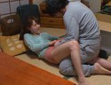 Akiho Yoshizawa gets fucked in the kitchen picture 9