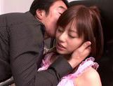 Beautiful chick Rina Rukawa hot pussy gives a good blowjob picture 15