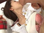 Miki Ishihara Asian babe enjoys a rear fucking
