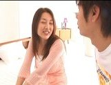 Mai Uzuki Busty Asian chick enjoys a hard fucking picture 3