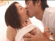 Mai Uzuki Busty Asian chick enjoys a hard fucking