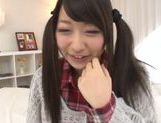 Adorable Japanese cutie Risa Itou enjoys a huge facial picture 2