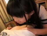 Captivating teen Kaho Mizuzaki is a fan of oral job and toy insertion