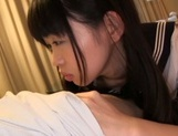 Captivating teen Kaho Mizuzaki is a fan of oral job and toy insertion picture 11