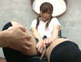 Amazing model Yurika Miyaji shows her skills at CFNM sex picture 13