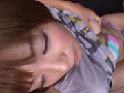 Mayu Nozomi Asian babe gives an amazing blowjob!