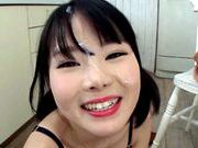 Young Miyu Sakai loves to suck hard cockasian sex pussy, asian pussy}