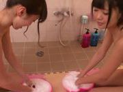 Kinky chicks Kana Aono and Minami Hirahara like to fuck