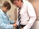 Akiho Yoshizawa Asian hottie gets a faceful of cum