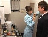 Akiho Yoshizawa Asian hottie gets a faceful of cum picture 8