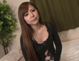 Cute and sexy Japanese amateur with tiny tits rides throbbing rod