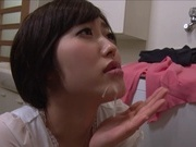 Beautiful busty milf Asahi Mizuno licks her lover´s body deepthroats cockasian chicks, young asian, asian ass}