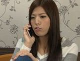 Sex appeal Japanese cutie has sex with her horny masseur picture 12