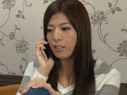 Sex appeal Japanese cutie has sex with her horny masseur