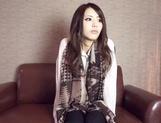 Toy insertion makes Japanese AV Model solo girl wild