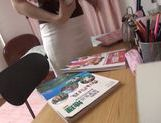 Kinky Japanese teen girl gets screwed by horny dude picture 12