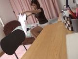 Kinky Japanese teen girl gets screwed by horny dude picture 15