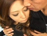 Misa Tsuchiya Naughty Asian model enjoys fucking and sucking cocks picture 8