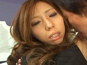 Misa Tsuchiya Naughty Asian model enjoys fucking and sucking cocks