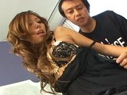 Misa Tsuchiya Naughty Asian model enjoys fucking and sucking cocks