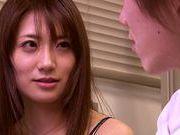 Asian teacher Saki Kouzai likes being impaled on rod