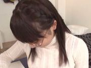 Luscious amateur Mao Kurata enjoys titty fucking POV
