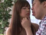 Rino Nanse nice Asian teen enjoys sucking cock picture 3