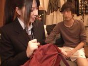 Ai Uehara Asian chick is fucked hard from behind