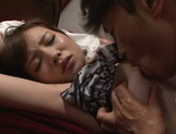 Busty Nao Fujimoto adores dick riding and giving blowjob picture 14