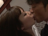 Busty Nao Fujimoto adores dick riding and giving blowjob picture 3