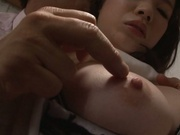 Busty Nao Fujimoto adores dick riding and giving blowjob