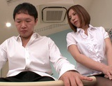 Busty milf Ruri Saijo gets fucked hard by a horny massage therapist picture 4