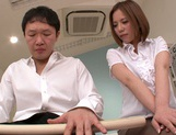 Busty milf Ruri Saijo gets fucked hard by a horny massage therapist picture 5