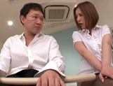 Busty milf Ruri Saijo gets fucked hard by a horny massage therapist picture 6