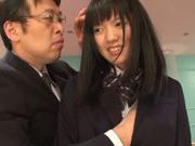 Horny schoolgirl Mio Oichi gets her slit stretched and fucked