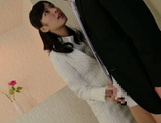 Kana Yume going wild in full pantyhose hardcore picture 6