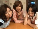 Riko Tachibana Asian gal and friends get a hard fucking picture 15