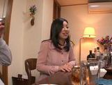 Superb japanese hottie gets nailed in the kitchen picture 2