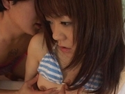 Shoko Yokoy Lovely Asian doll gives excellent blowjobs and likes rear fucking