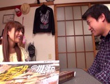 Rina Rukawa feels needy to have sex with him picture 11