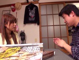 Rina Rukawa feels needy to have sex with him picture 13