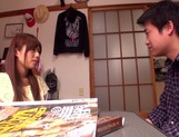 Rina Rukawa feels needy to have sex with him picture 15