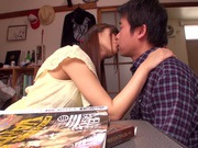 Rina Rukawa feels needy to have sex with him