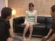 Rear fuck satisfies lust of Airi Suzumura