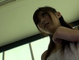 Amateur pussy licking with Asian milf Haruki Satou picture 6