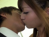 Amateur pussy licking with Asian milf Haruki Satou picture 7